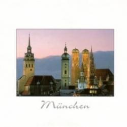 Postkarte-Ansichtskarte-Muenchen-Frauenkirche-KM66