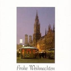 Postkarte-Ansichtskarte-Weihnachtskarte-Muenchen-KM18