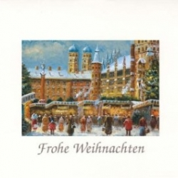 Postkarte-Ansichtskarte-Weihnachtskarte-Muenchen-KM305