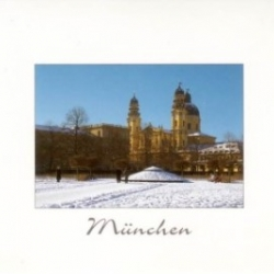Postkarte-Ansichtskarte-Weihnachtskarte-Muenchen-KM42