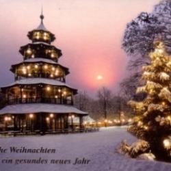 Postkarte-Ansichtskarte-Weihnachtskarte-Muenchen-KMS11