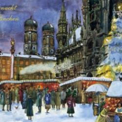 Postkarte-Ansichtskarte-Weihnachtskarte-Muenchen-KMS300