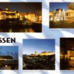 Postkarte-Ansichtskarte-Bayern-Allgaeu-Fuessen-90675