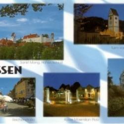 Postkarte-Ansichtskarte-Bayern-Allgaeu-Fuessen-90905