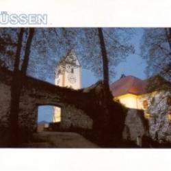 Postkarte-Ansichtskarte-Bayern-Allgaeu-Fuessen-F9001