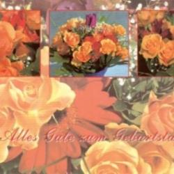 Postkarte-Ansichtskarte-Blumen-G17