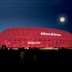 Postkarte-Ansichtskarte-Muenchen-Allianz-Arena-Bayern-RM91